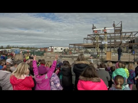 Milestone reached in the construction of the new Jim Darcy School
