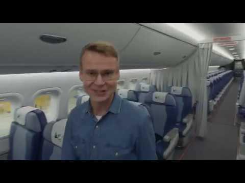 МС-21-300_Мир Самолетов 21 века_Презентация салона. - YouTube