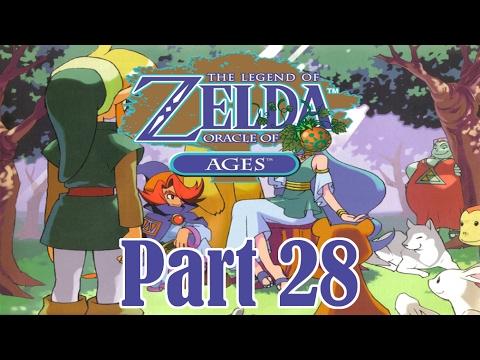 Zelda: Oracle of Ages 100% Walkthrough 28/49 - Goron Vase & Goronade  (Commentary)