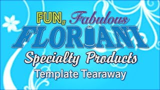 Floriani Specialty Products Template Tearaway