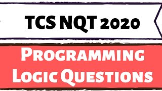 TCS NQT 2020 Coding Section Preparation Strategy