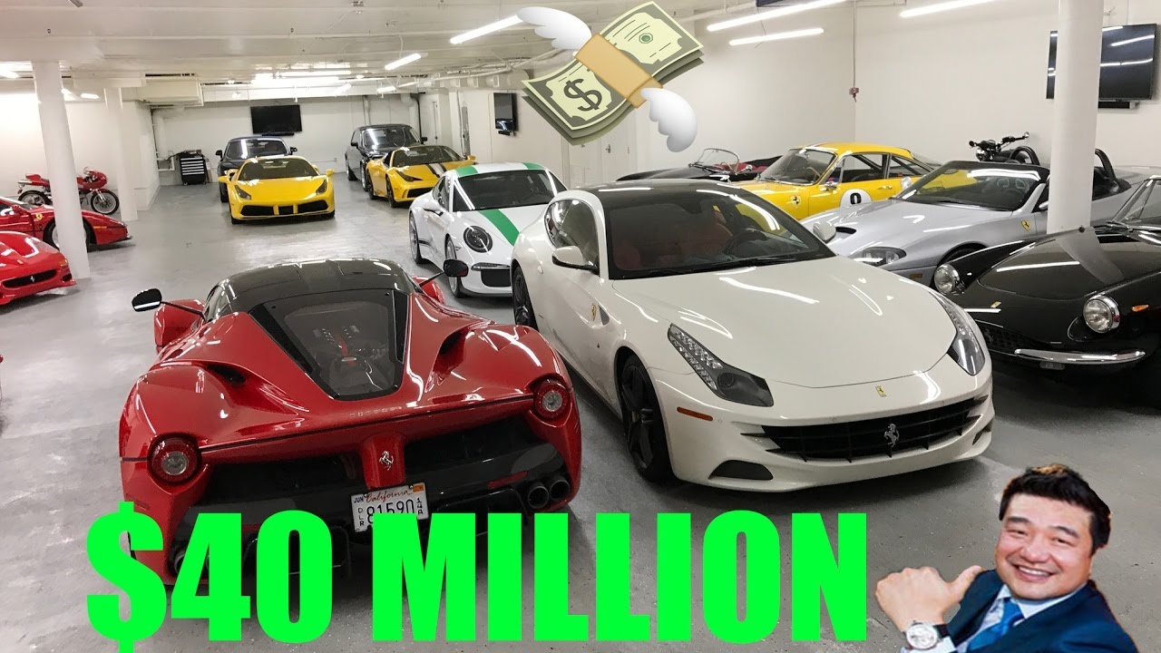 881c10cc697b This is what a 40$ Million dollar CAR COLLECTION LOOKS LIKE! - YouTube