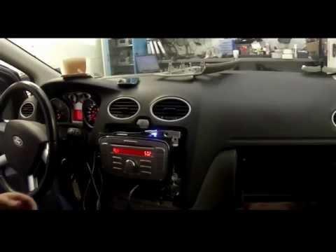 Форд Фокус 2  Магнитола  Ford 6000 CD добавляем USB