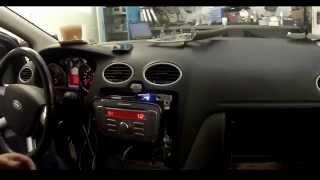 видео Ввод кода, настройка времени магнитола Ford CD6000