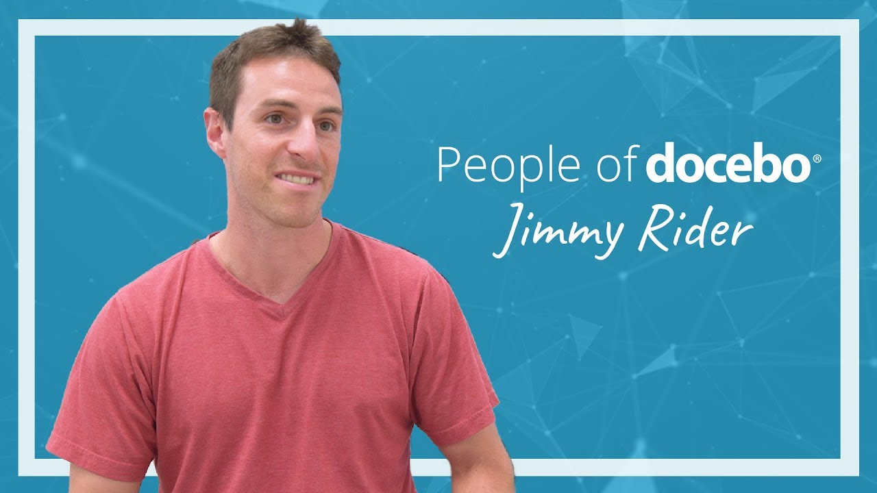 People of Docebo - Jimmy Rider