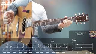 워너원(Wanna One) - Beautiful 통기타 강좌 Guitar lesson