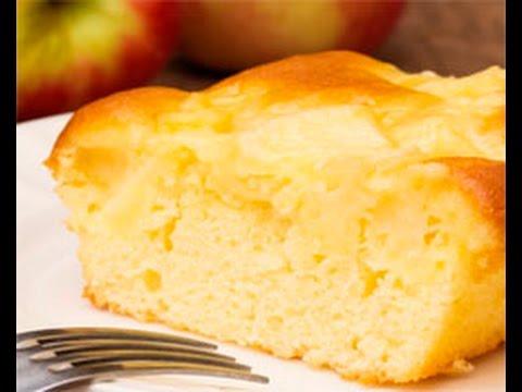recette-enfant-de-gâteau-au-yaourt-et-aux-pommes