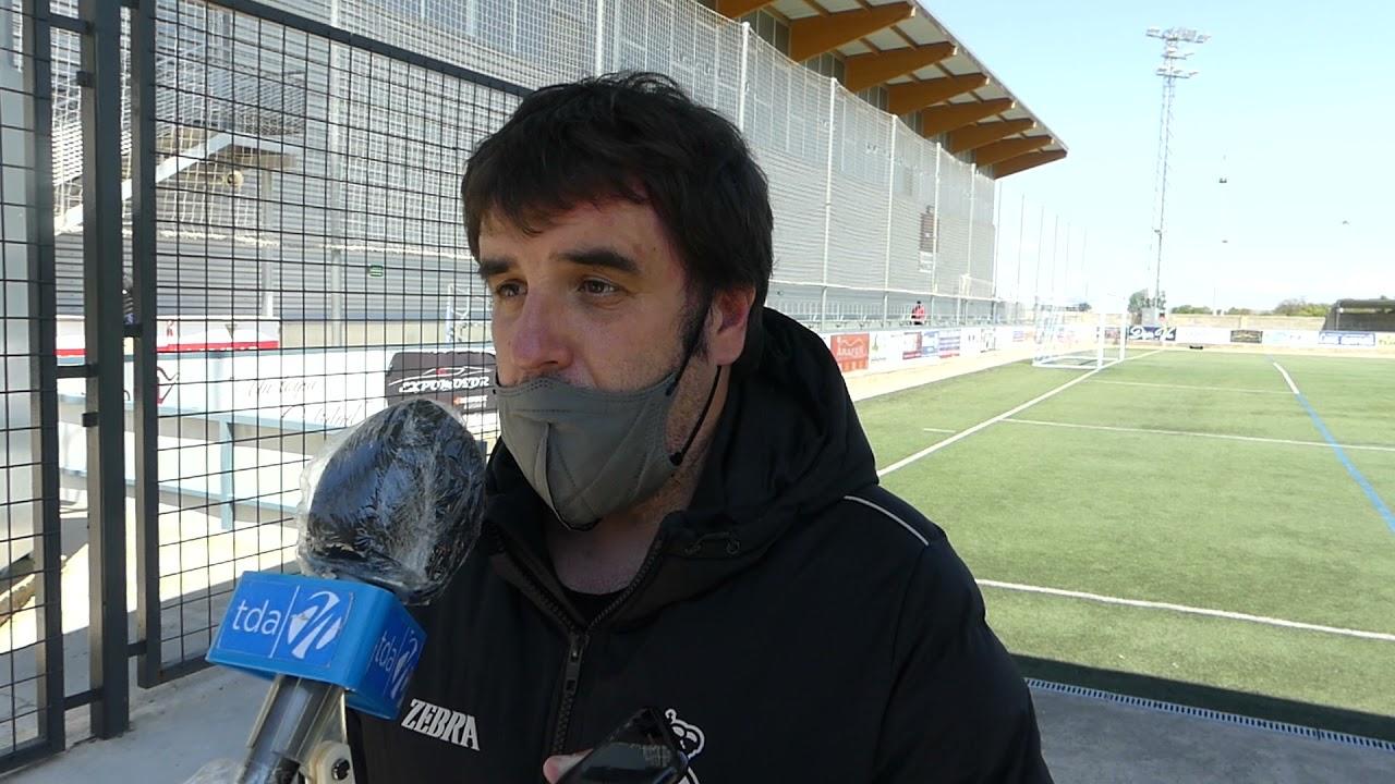 Aitor Zulaika. 5ª jornada 2ª fase, tras el encuentro SD Tarazona-Real Unión Club