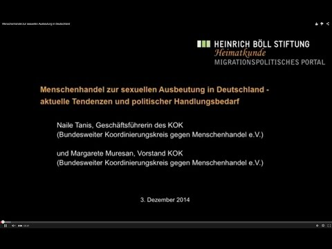 Menschenhandel zur sexuellen Ausbeutung in Deutschland