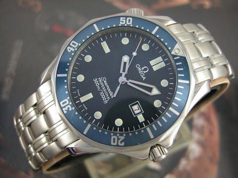 8189255cbc6 Relógio omega semaster jamesbond full size Quartz extensão de mergulhador