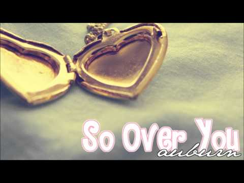 I'm so over you, it's crazy.. ♥