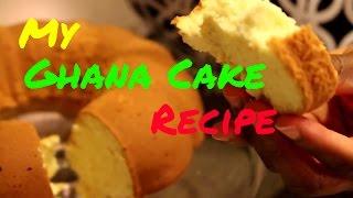 Ghana Delicacies Part 1: Cake | Pound Cake | Sponge Cake