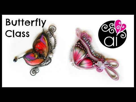 polymer-clay-workshop-+-wire-wrapping-&-soutache-|-butterfly-class-|-roma