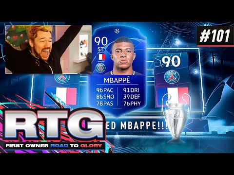 OMG WE PACK UCL MBAPPE!! - FIFA 21 First Owner Road To Glory! #101