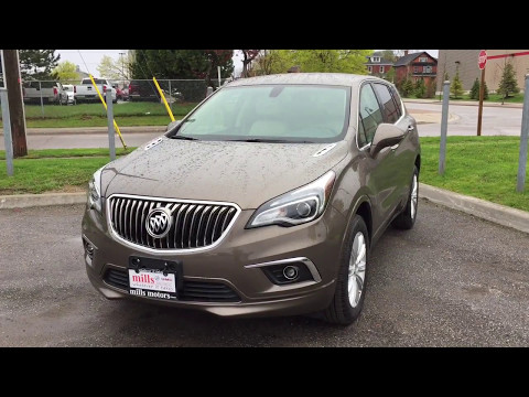 2017 Buick Envision Preferred AWD Heated Front Seats Bronze Alloy Metallic Oshawa ON Stock# 171105
