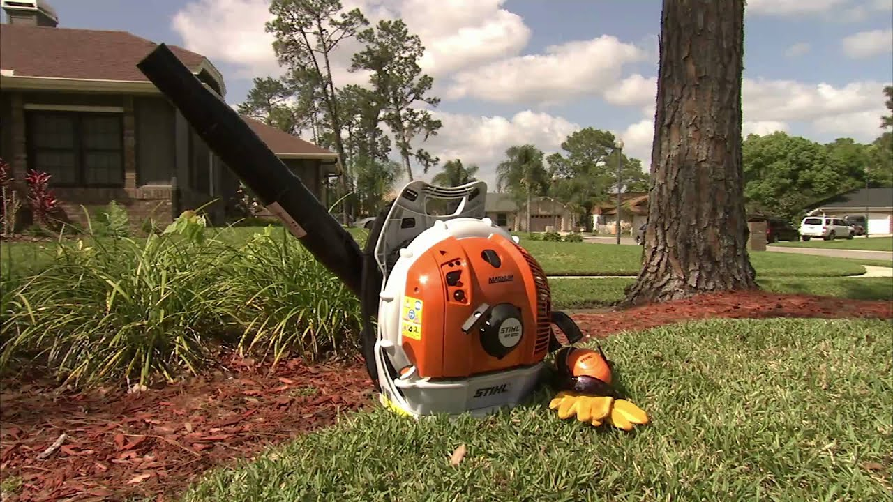 The BR 600 STIHL Backpack Blower