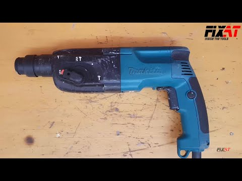 Makita HR2450 Hammer Drill Restoration