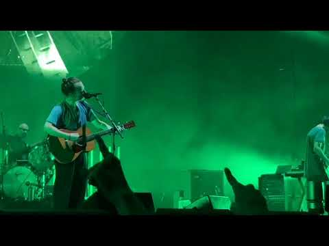 "Radiohead 7/13/18 ""Fake Plastic Trees"" At Madison Square Garden At NYC"