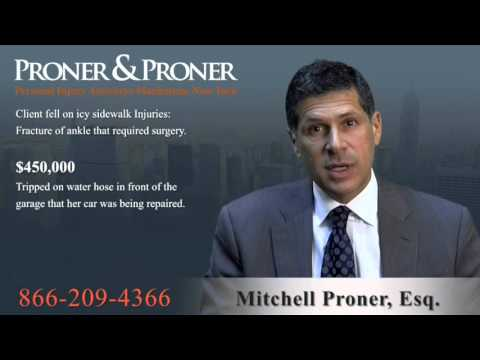 Slip and Fall Accident Attorney Mount Hope, NYC, NY | 866-209-4366 | Injury Lawsuit Lawyer