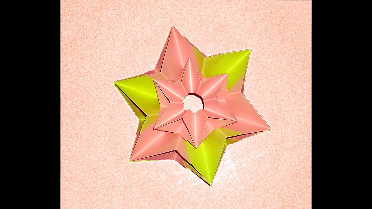 star flower origami diagram palmate leaf christmas ideas for