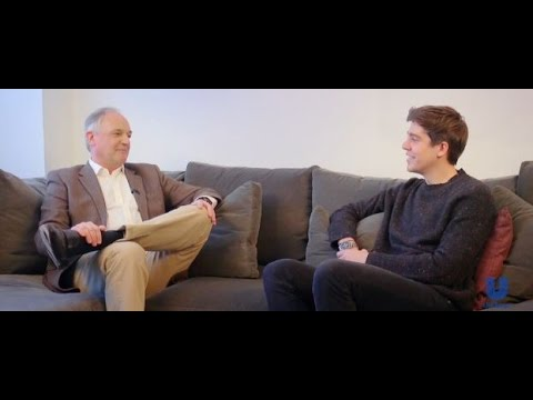 "Unilever CEO Paul Polman interviewed by his son Sebastian on Huffington Post's ""Talk to Me"""