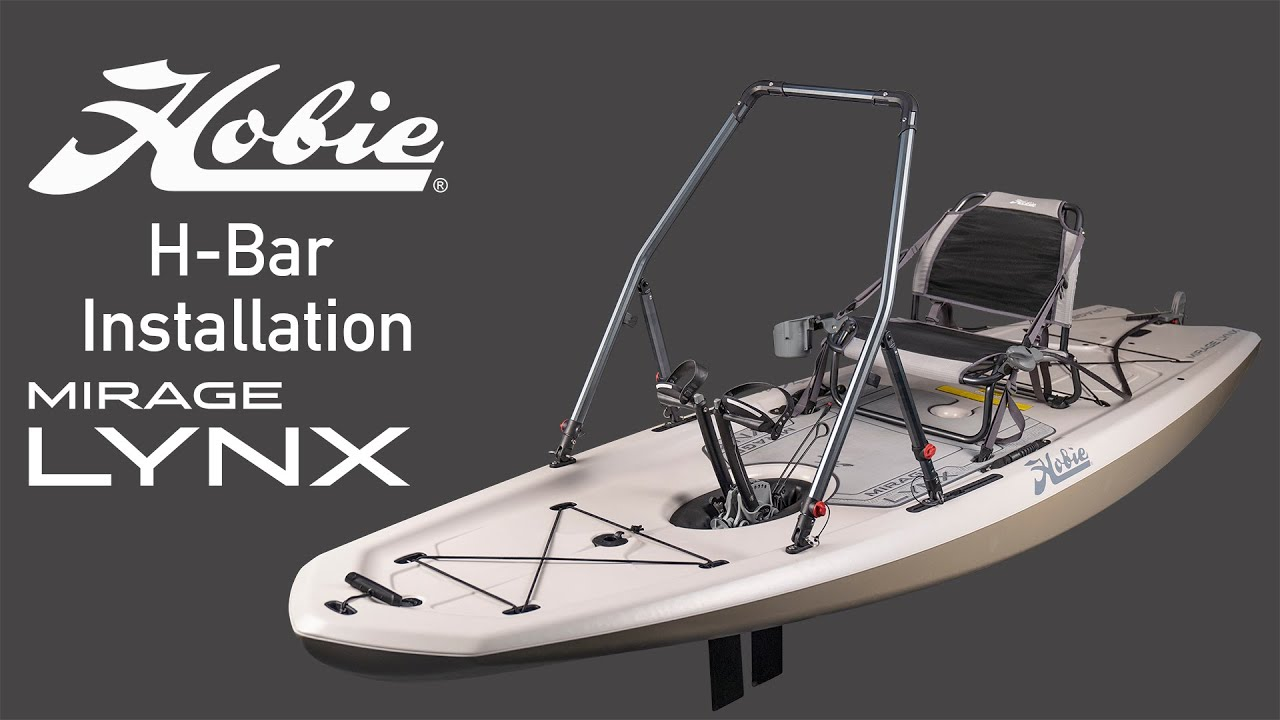 Hobie Mirage LYNX | H-BAR STANDING SUPPORT INSTALLATION | Standing in a Kayak Made Easy