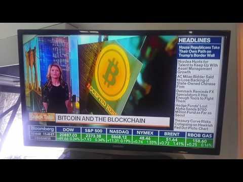 Bloomberg News on Bitcoin 2017