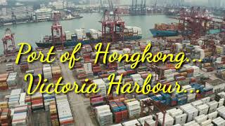 Port of Hongkong, Victoria Harbour #Honkong #VictoriaHarbour #Port