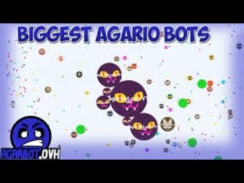 Free Agar io FaceBook Bots!! | AgarBot ovh is back!