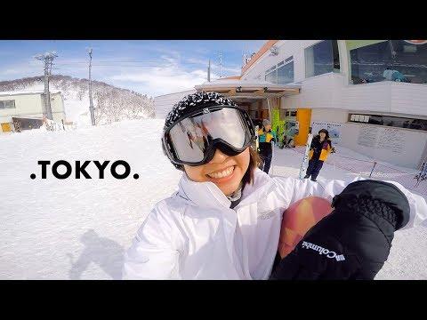 Snowboarding in Gala Yuzawa | Tokyo Vlog