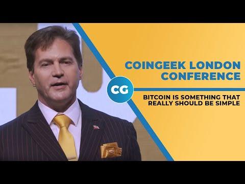 Dr. Craig Wright discusses Satoshi's Vision, Bitcoin at CoinGeek London