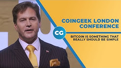 Dr. Craig Wright discusses Satoshi's Vision, Bitcoin at CoinGeek London
