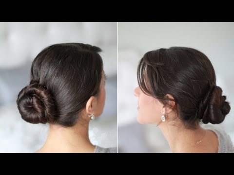 Cinnamon Bun Hair Tutorial Youtube