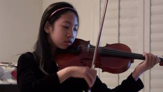 Alexandra Lee plays Concerto # 3 in G minor by Seitz