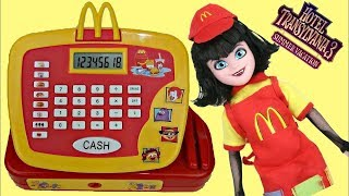 Hotel Transylvania 3 MAVIS Works at Mcdonald
