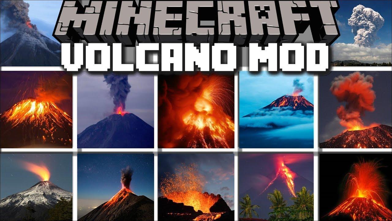 Minecraft Volcano Mod Run Away From Melting Lava New