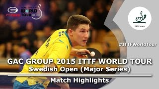 Swedish Open 2015 Highlights: XU Xin vs KARLSSON Kristian (1/2)