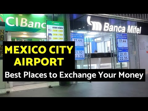 Best Money Exchange Rates At The Mexico