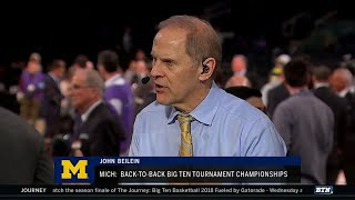 John Beilein Talks 2018 B1G Tourney Title