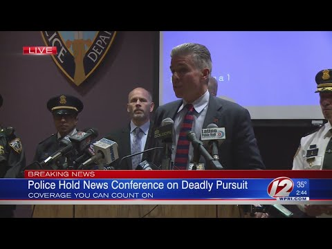 Full press conference following officer-involved shooting