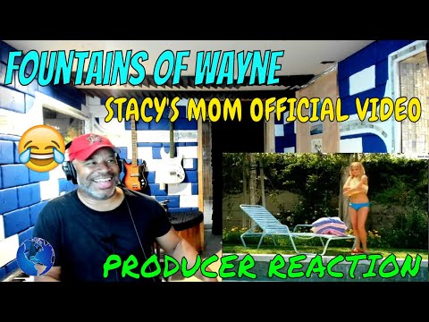 Fountains of Wayne   Stacy's Mom Official Music Video - Producer Reaction