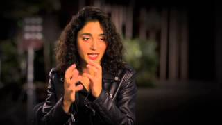 "Exodus: Gods and Kings: Golshifteh Farahani ""Nefertari"" Behind the Scenes Movie Interview"