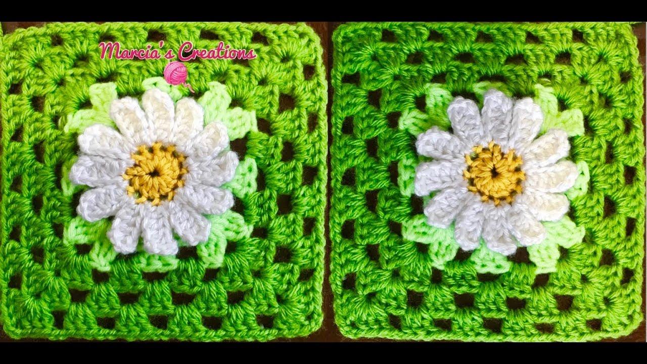 Único Gerbera Patrón De Crochet Margarita Imagen - Ideas de Patrones ...