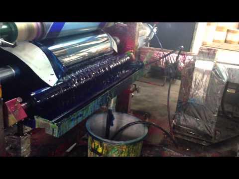 Máy in ống đồng 8 màu khổ 1250mm, tốc độ 200m/phút model HYA - 8 -1050H part 2/2