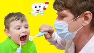 Dentist Song | Healthy Habits Nursery Rhymes & Kids Songs by KybiBybi Colors