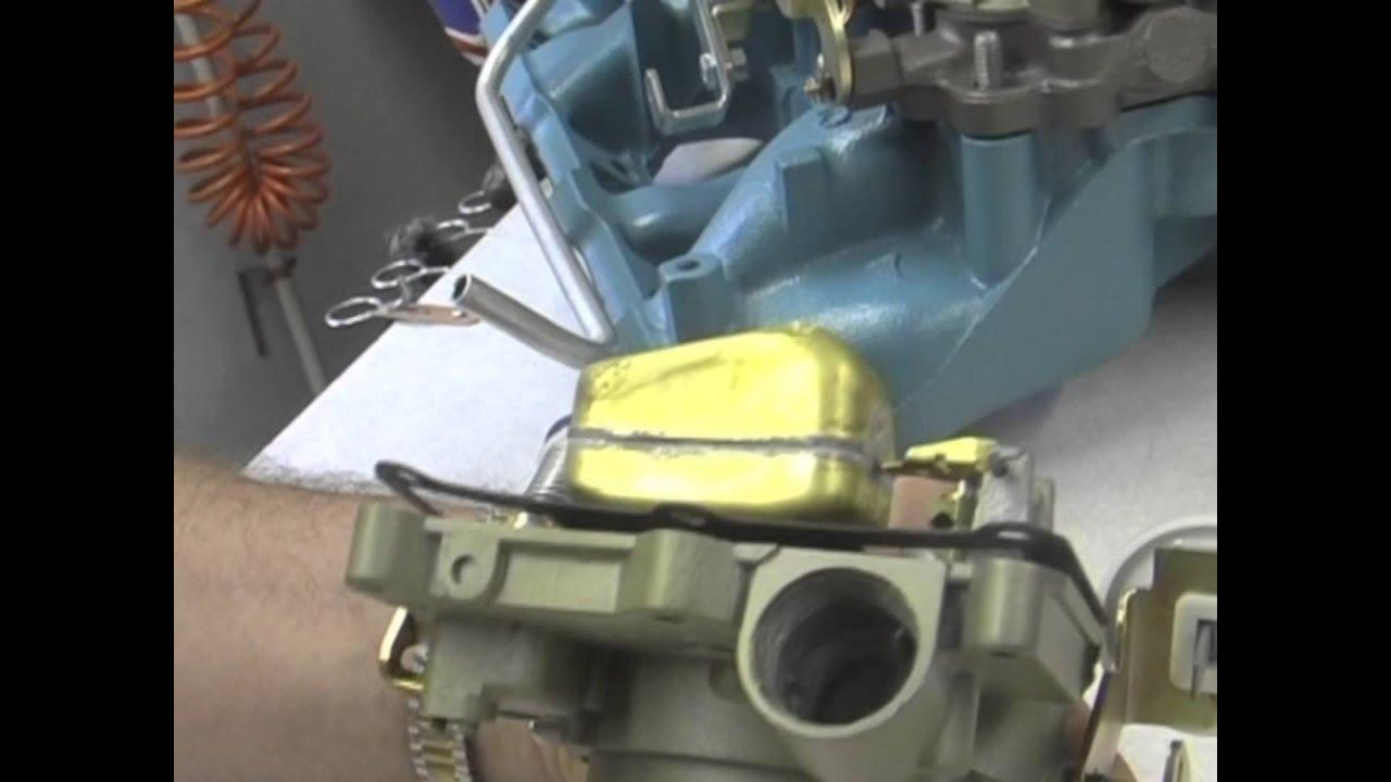 How To Set Float on Pontiac Tri-power 2GC Carburetors