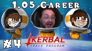 Kerbal Space Program | 1.05 Career! | Ep #4 -- Making Planes!