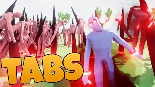 1000 VS 1 DARK PEASANT - TABS Totally Accurate Battle Simulator Witzige Momente Funny Moments German