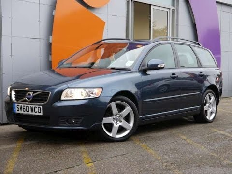 Review Our 2010 Volvo V50 Se 1 6d Drive Estate For In Hampshire
