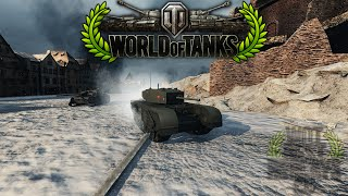 World of Tanks - Churchill III - 3.5k Damage - 11 Kills - 3.8k Exp - Ace Tanker [HD]
